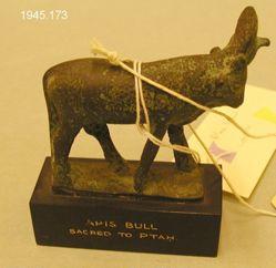 Statue of Apis bull