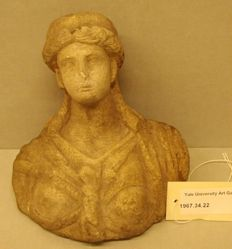 Miniature bust of Isis