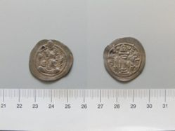 Drachm of Firoz I from Persia