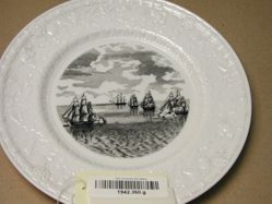 Plate: The Constitution's Escape From the British Squadron