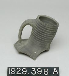 Black and Red Ribbed Ware Fragments