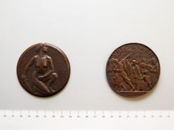Belgian Medal Commemorating the Battle of the Yser