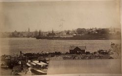 Panoramic View of Circular Quay, Sydney, from North Shore, from the album [Sydney, Australia]
