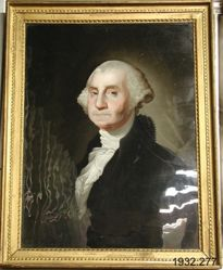 Portrait of George Washington (Chinese artist after Gilbert Stuart)