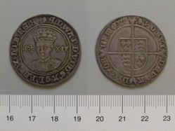 1 Shilling of Edward VI, King of England from London