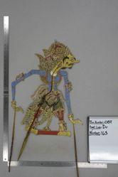 Shadow Puppet (Wayang Kulit) of Kalinggopati, from the set Kyai Drajat