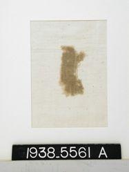 Textile, fragment of plain cloth