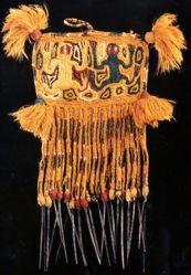 Textile Pendant of a llama (?)