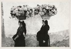 Femmes aux fleurs, Portugal 1958, from the portfolio: Edouard Boubat, 1981