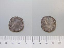 1 Groat of Elizabeth I, Queen of England from London
