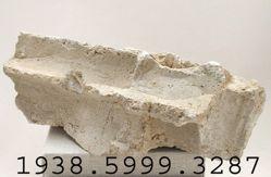 Stone pedestal fragment