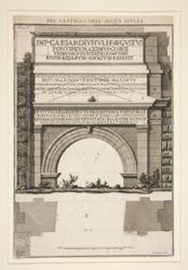 Del Castello dell'Acqua Giulia (Concerning the Fountainhead of the Aqua Giulia), from Le Rovine del Castello dell'Acqua Giulia