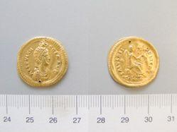 Solidus of Theodosius II from Constantinople