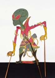 Shadow Puppet (Wayang Kulit) of Alien II or Planet II