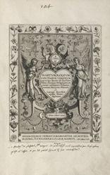 Martyrologium Sanctarum Virginum (Female Martyr Saints), 1 of 25 plates in a series