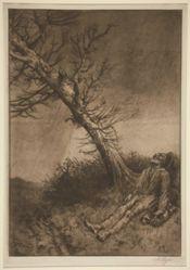 La mort du vagabond (Death of the Vagabond)