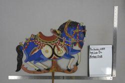 Shadow Puppet (Wayang Kulit) of Jaran, from the set Kyai Drajat
