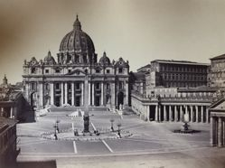 Untitled (St. Peter's Basilica exterior)