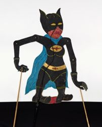 Shadow Puppet (Wayang Kulit) of Batman