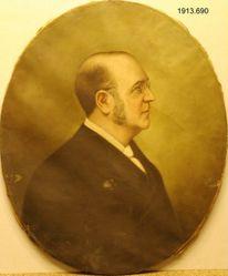 Elbert Brinckerhoff Monroe (1836-1894), M.A. (Hon.) 1886