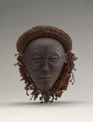 Female Mask (Mwana Pwo or Pwewo)