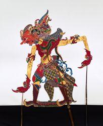 Shadow Puppet (Wayang Kulit) of Bima or Bratasena