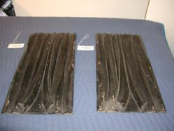 Carved Panels from a hearse