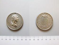 Tin Medal of Washington Temperance Society