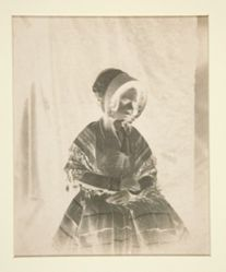 Untitled (Seated Girl with Bonnet)