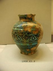 Vase of Rakka Type