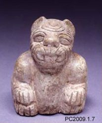 Kneeling Were-Jaguar Figure