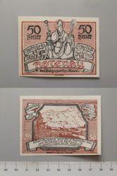 50 Heller from Abtenau, issues 30 May 1920, redeemable 31 December 1920, Notgeld