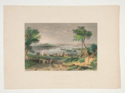 Centre Harbour, Lake Winnipesaukee, illustration for Nathaniel Parker Willis's book American Scenery