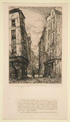 Rue des Marmousets (vieux Paris)