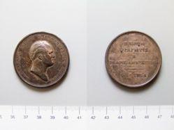Silver medal of Alexander I