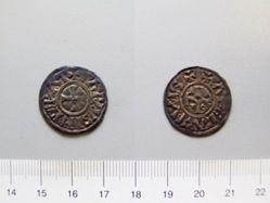 Silver Denier of Charles III from Arles