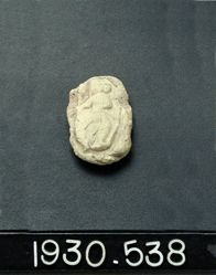 Votive Tablet with Parthian Figure