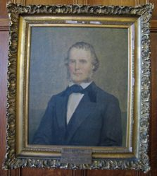 John Addison Porter (1822-1866), B.A. 1842, M.A. 1845, M.D. (Hon.) 1854, (after Jennette Shepherd Harrison Loop)