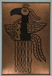 Copper plate for L'oiseau magique