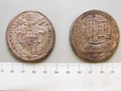1 Scudo of Pope Clement XI; Tommaso Mercandetti from Rome