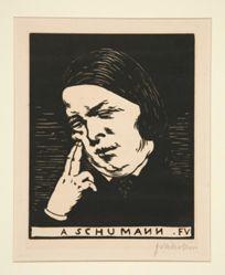 Portrait of Schumann