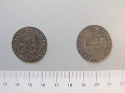 Sixpence of James I, King of England from London