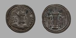 Drachm of Shapur I from Seleucia ad Tigrim