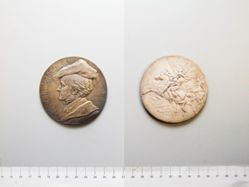 Silver Medal of Richard Wagner from Germany