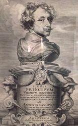 Frontispiece for the series Icones principum virorum (Iconography)