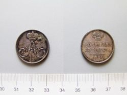 Silver Coronation piece of Alexander II
