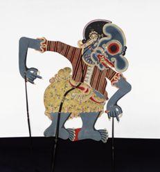 Shadow Puppet (Wayang Kulit) of Buta Terong, from the consecrated set Kyai Nugroho