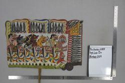Shadow Puppet (Wayang Kulit) of Rampokan Raksasa, from the set Kyai Drajat