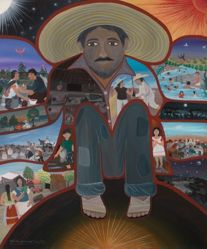 Self-Portrait in Sombrero