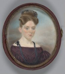 Lady with High Comb in Her Hair